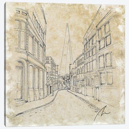 London Shard Canvas Print #KOO21} by Koorosh Nejad Canvas Art Print