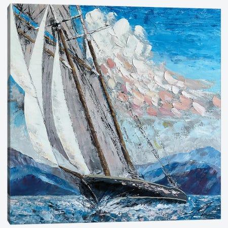 Schooner Columbia Canvas Print #KOO22} by Koorosh Nejad Canvas Print