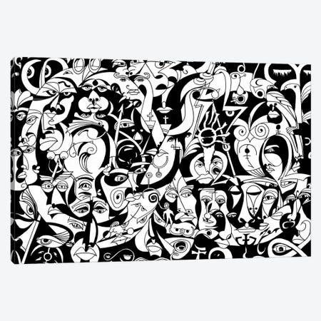 The Infinity - Ancient Greek Canvas Print #KOO2} by Koorosh Nejad Canvas Wall Art