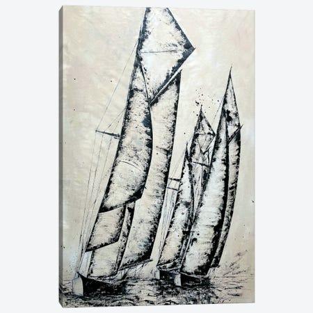 Morning Sail II Canvas Print #KOO71} by Koorosh Nejad Canvas Artwork