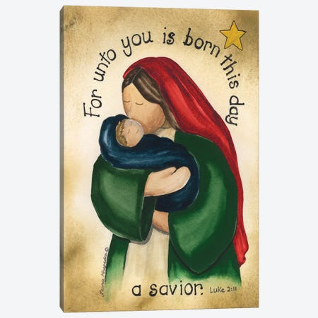 A Savior Canvas Print #KOR1} by Laurie Korsgaden Canvas Artwork