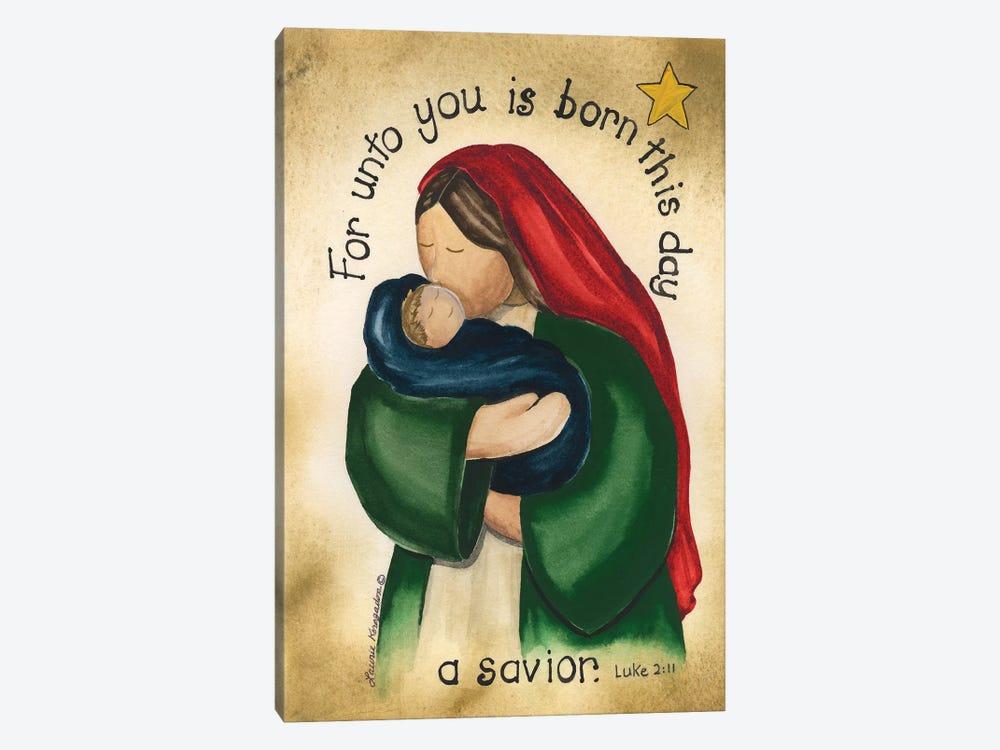 A Savior by Laurie Korsgaden 1-piece Canvas Art Print