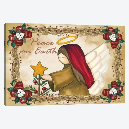 Peace On Earth Canvas Print #KOR5} by Laurie Korsgaden Canvas Art Print