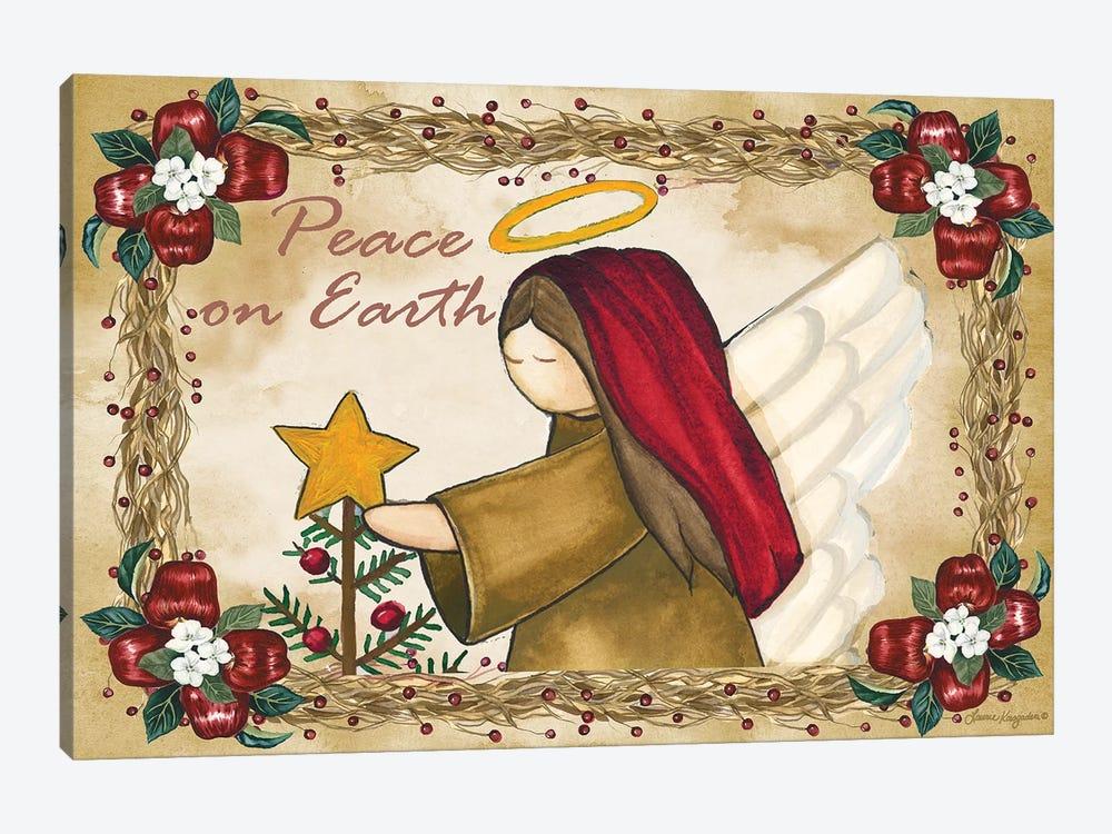 Peace On Earth by Laurie Korsgaden 1-piece Canvas Print