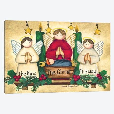 Praying Angels Canvas Print #KOR6} by Laurie Korsgaden Canvas Print