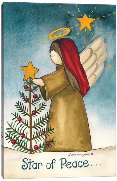 Star Of Peace Canvas Art Print
