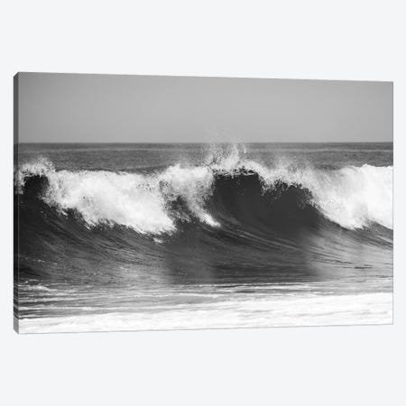 Wave B&W Canvas Print #KOS5} by Vladimir Kostka Canvas Wall Art