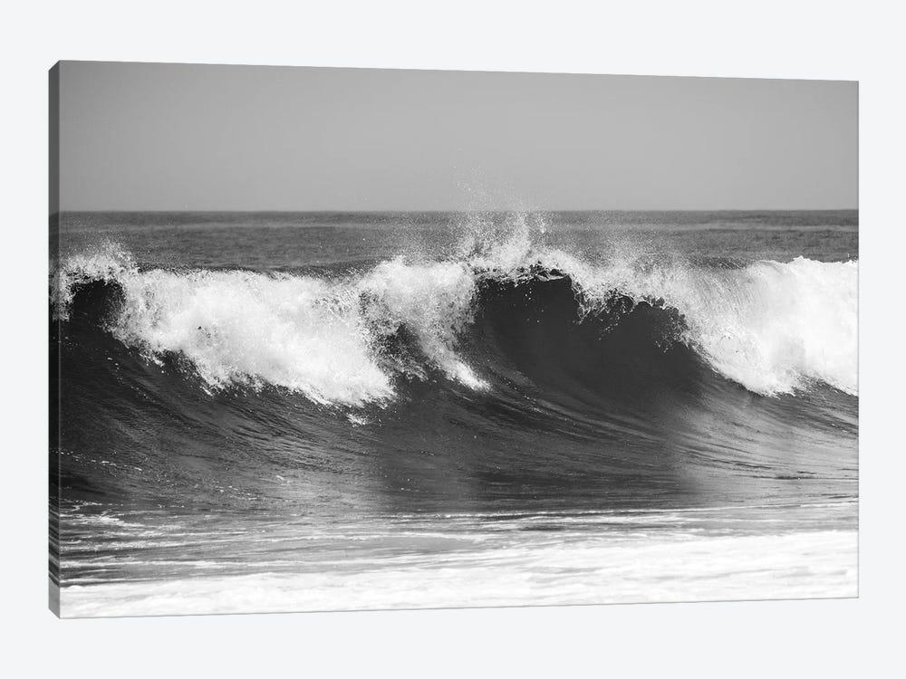 Wave B&W by Vladimir Kostka 1-piece Canvas Wall Art
