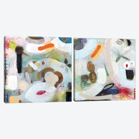 Changed My Mind Diptych Canvas Print Set #KOU2HSET001} by Aleah Koury Canvas Art