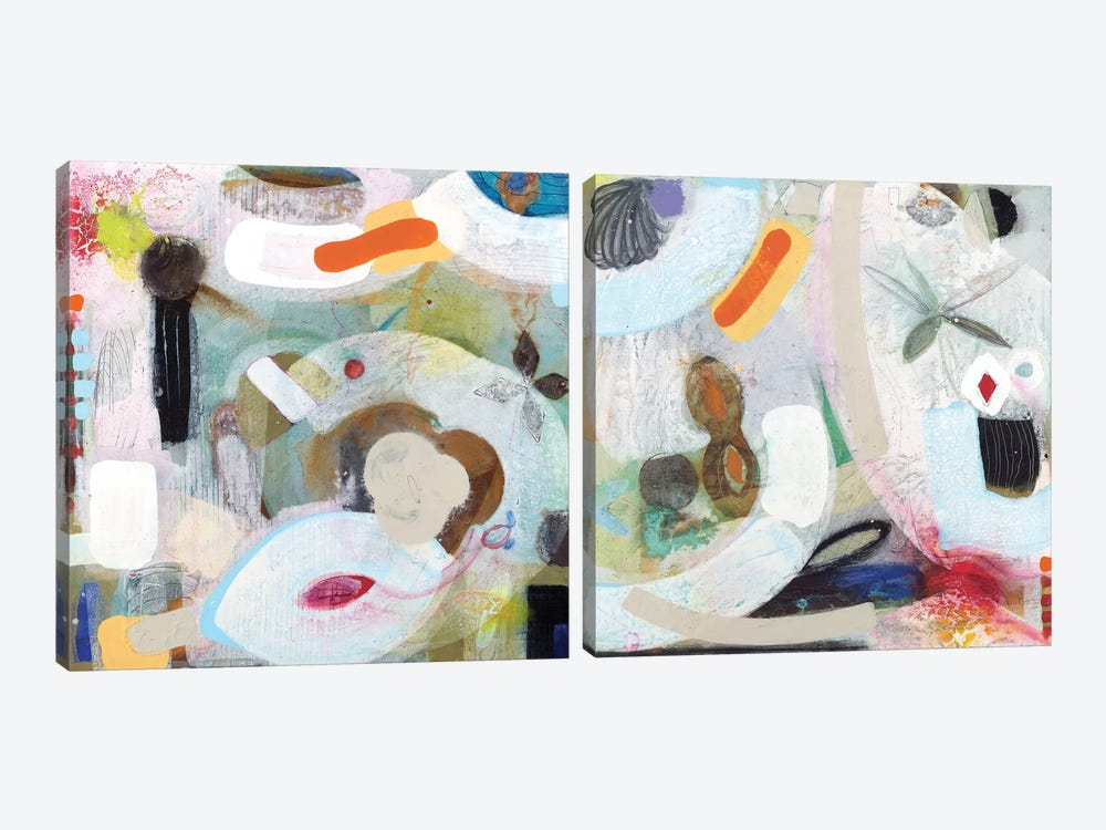 Changed My Mind Diptych by Aleah Koury 2-piece Canvas Artwork