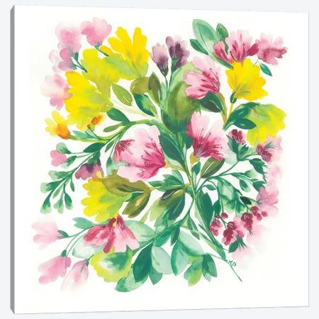 Peruvian Lilies Canvas Print #KPA114} by Kim Parker Canvas Artwork
