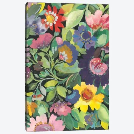 Purple Anemone Canvas Print #KPA115} by Kim Parker Canvas Art