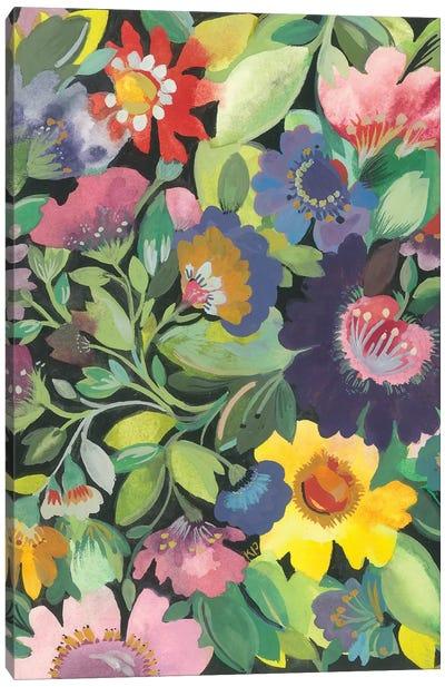 Purple Anemone Canvas Art Print
