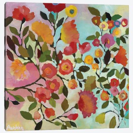 Rose Trellis Canvas Print #KPA117} by Kim Parker Canvas Art