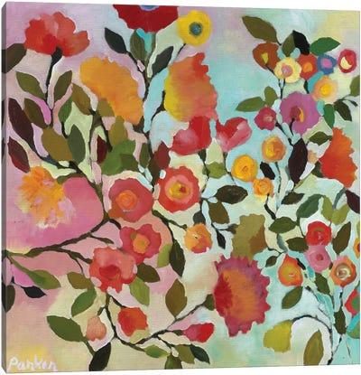 Rose Trellis Canvas Art Print