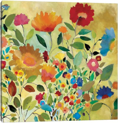 Summer Meadow Canvas Art Print