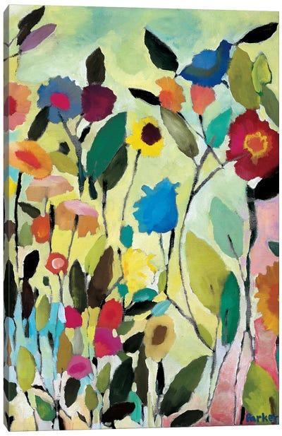 Tulip Garden Canvas Art Print
