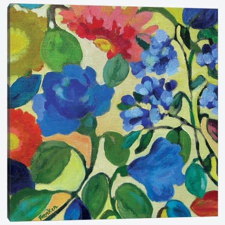 Hydrangeas Canvas Print #KPA127} by Kim Parker Art Print