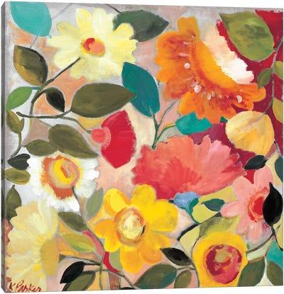 Lush Garden Canvas Art Print