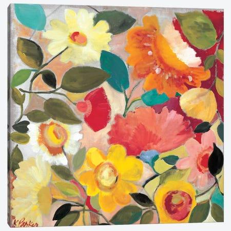 Lush Garden Canvas Print #KPA129} by Kim Parker Canvas Wall Art