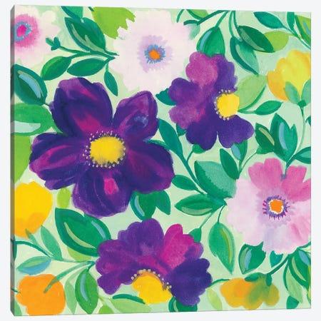Morning Glories II Canvas Print #KPA133} by Kim Parker Canvas Art Print