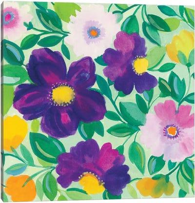 Morning Glories II Canvas Art Print