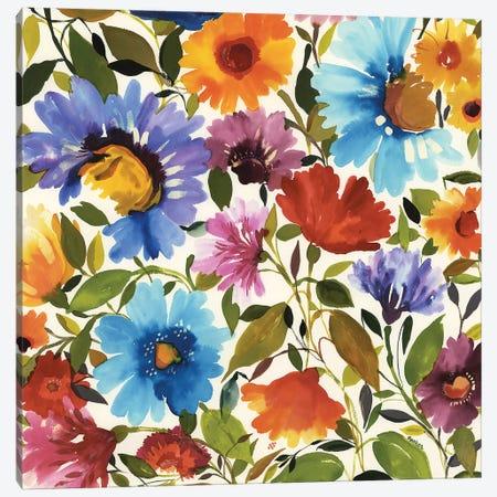 Anemone Bouquet I Canvas Print #KPA145} by Kim Parker Canvas Art Print