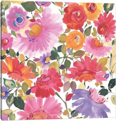 Garden Bouquet Canvas Art Print