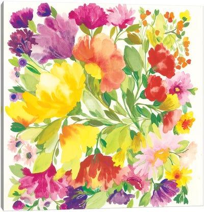 Spring Tulips Canvas Art Print