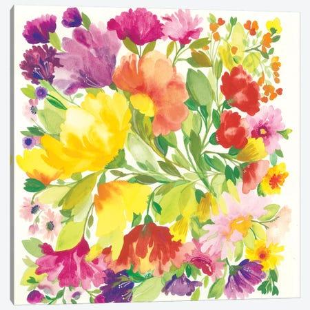 Spring Tulips Canvas Print #KPA153} by Kim Parker Canvas Print