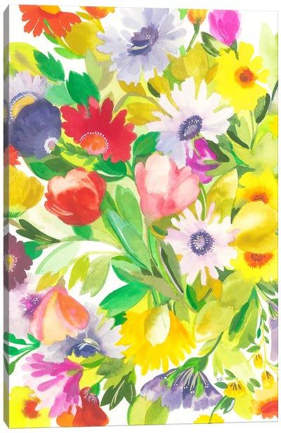 April Tulips Canvas Art Print