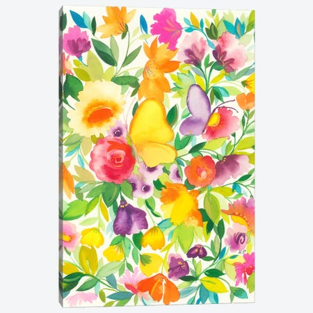 Monarch Garden Canvas Print #KPA158} by Kim Parker Canvas Print