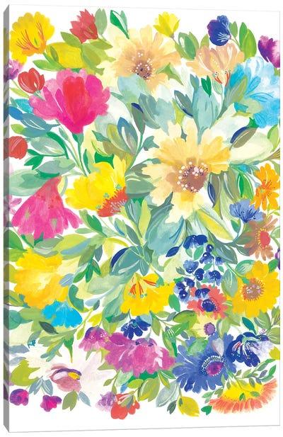 Meadow Bouquet Canvas Art Print