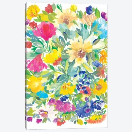 Meadow Bouquet Canvas Print #KPA159} by Kim Parker Canvas Print