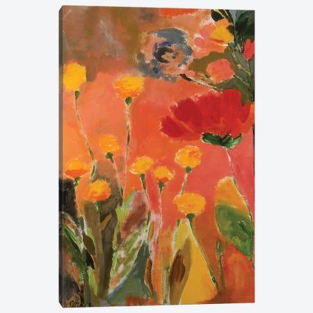 Dandelions Canvas Print #KPA15} by Kim Parker Canvas Artwork