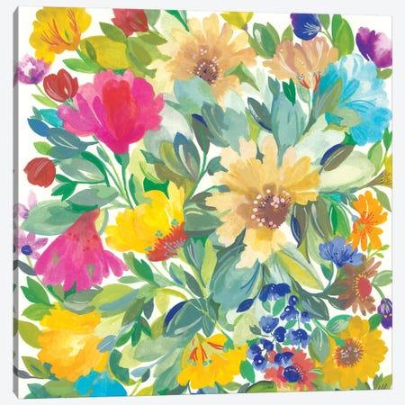 Meadow Bouquet Detail Canvas Print #KPA160} by Kim Parker Canvas Artwork