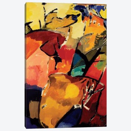 Ram Canvas Print #KPA16} by Kim Parker Canvas Artwork