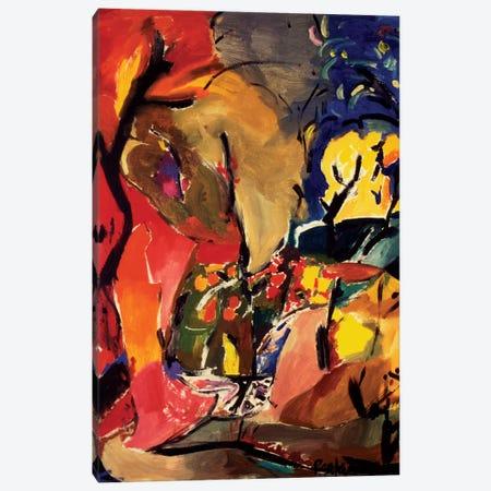 Inferno Canvas Print #KPA17} by Kim Parker Canvas Artwork