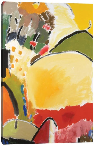 Yellow Hill Canvas Print #KPA19