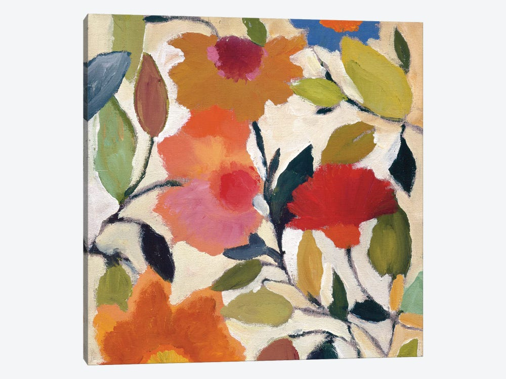 Begonias by Kim Parker 1-piece Art Print