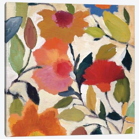 Begonias Canvas Print #KPA1} by Kim Parker Canvas Art Print