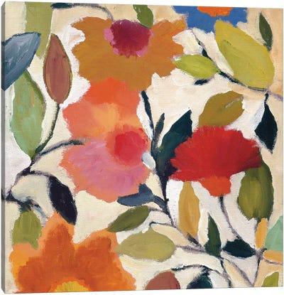 Begonias Canvas Art Print