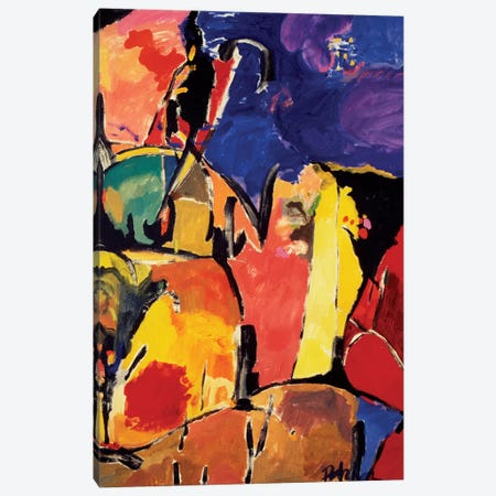 Arles Canvas Print #KPA20} by Kim Parker Canvas Artwork