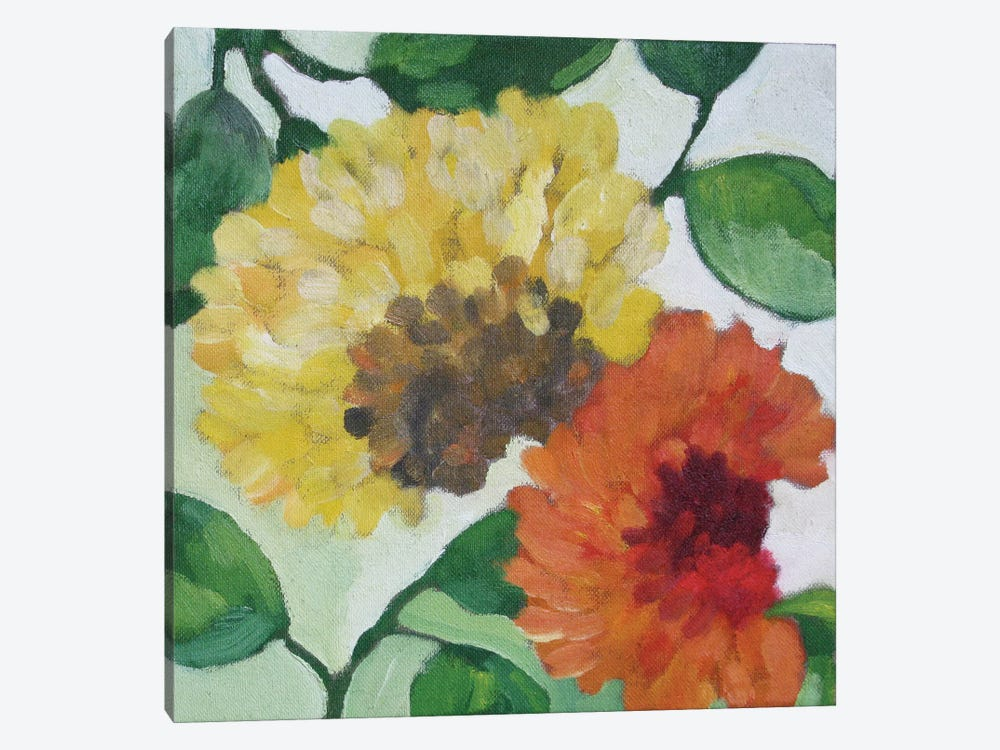 Gabrielle's Garden I 1-piece Canvas Artwork