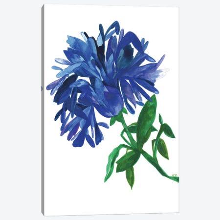 Indigo Magnolia Canvas Print #KPA222} by Kim Parker Art Print