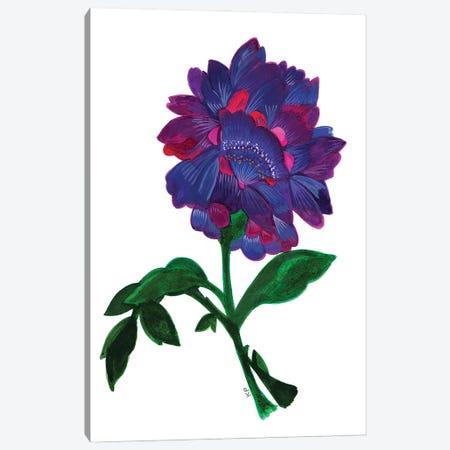 Violet Lotus Canvas Print #KPA233} by Kim Parker Canvas Wall Art