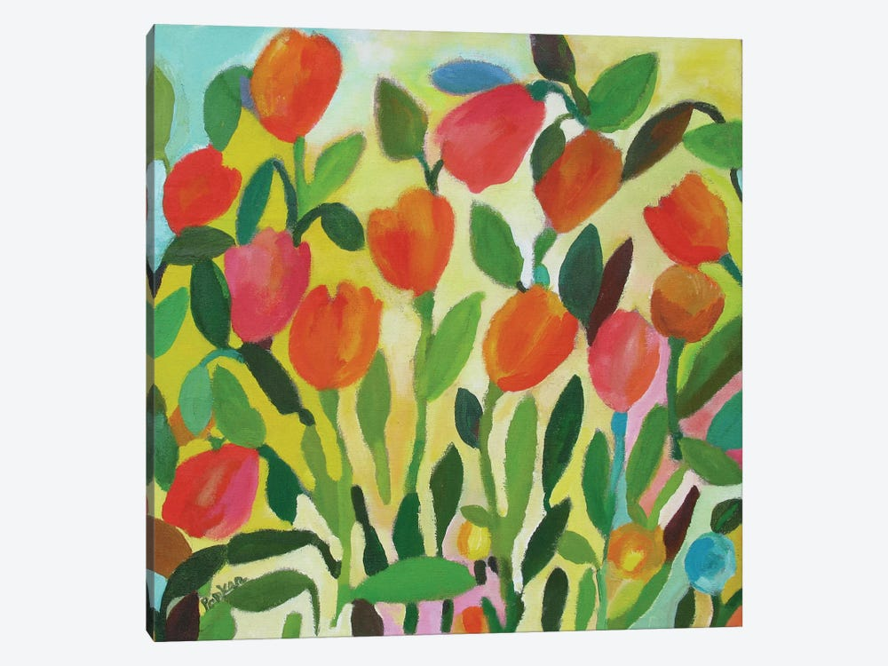 Tulip Garden by Kim Parker 1-piece Canvas Wall Art