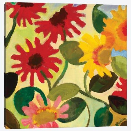Gerber Daisy I Canvas Print #KPA240} by Kim Parker Art Print