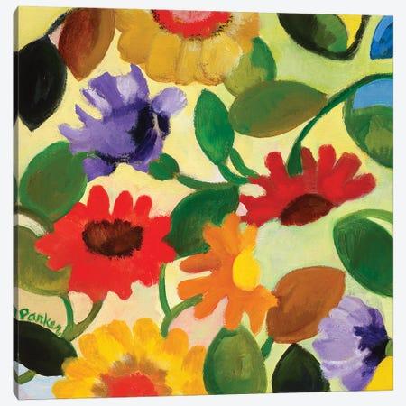Gerber Daisy II Canvas Print #KPA241} by Kim Parker Art Print