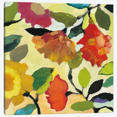 Floral Tile I Canvas Print #KPA242} by Kim Parker Canvas Print